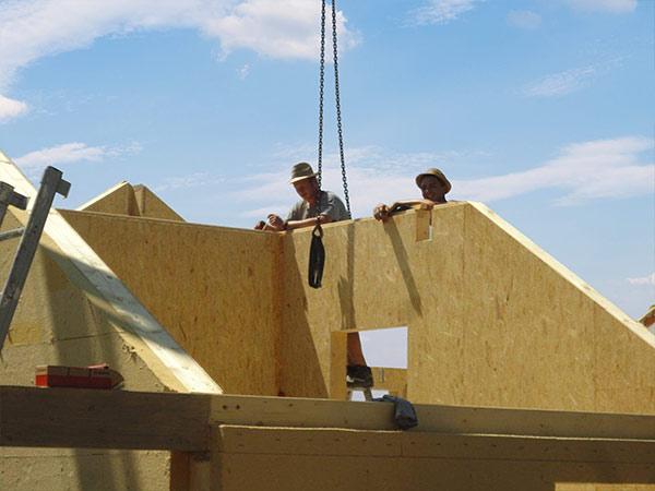 Meisterhandwerk im Holzhausbau